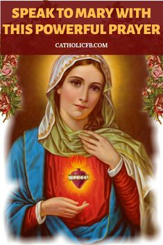 If You Trust the Virgin Mary as a Catholic, Talk to Her with this Powerful Prayer for a Special Miracle Prayers To Mary, Special Prayers, Prayers For Healing, Catholic Prayers, Healing Prayer, Prayer For Baby, Daily Prayer, I Love You Mother, Everyday Prayers