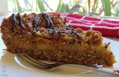 Anzac Slice with Caramel Centre - Just a Mum Baking Recipes, Cake Recipes, Dessert Recipes, Kiwi Recipes, Keto Desserts, Vegan Recipes, Yummy Treats, Sweet Treats, Yummy Food