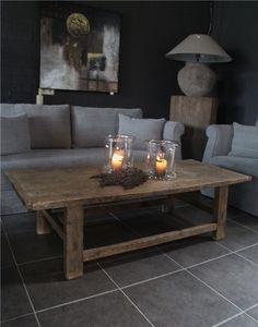 MEUBELEN 'Salontafel Oud Hout NIEUW BINNEN - 't Veurhuus Nostalgisch Wonen - product_detail ysalontafel_oud_hout_nieuw_binnen 4076