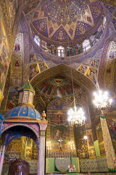 * Catedral de São Salvador *  Isfahan, Irã.