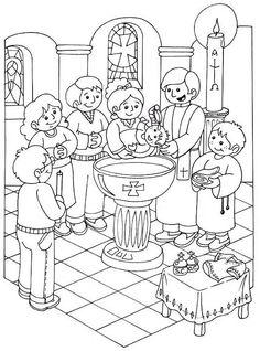 Coloriage Fille Bapteme.59 Meilleures Images Du Tableau Le Bapteme Baby Cards Baby