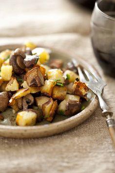Pommes de terre forestière