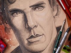 Sherlock (art portfolio) #Sketch Design