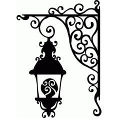 Silhouette Design Store - View Design #64832: hanging lantern