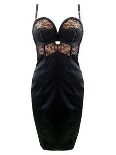 Von Follies by Dita Von Teese - Her Sexellency Overwire Dress (Black)