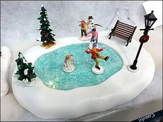 A bit early for Ice Skating here in the Northeast, but maybe not in Alaska or International Falls, Minnesota, so… Christmas Villages, Christmas Fun, Birthday Candles, Birthday Cake, Ice Skating, Hanukkah, International Falls, Skates, Halloween