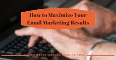Lowsy open rates? Emails getting ignored? Struggling to get conversions? Maximize your email marketing results.