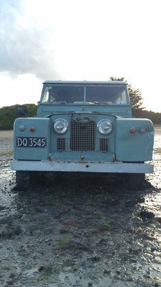Series IIa stuck in the mud