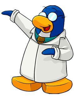 esse é gary o inventor maluco do club penguin ele tambem é um agente secreto da EPF Elite Penguin Force.
