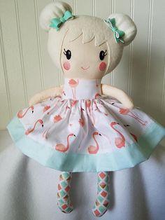 Handmade Doll Soft Doll Rag Doll Comfort Doll Personalized