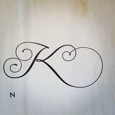 #K #lettering #poster (Taken with instagram)