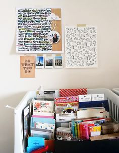 Dream Craft Room Inspiration: from Workspace Wednesday | Geralyn Sy