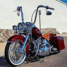 Harley Davidson #harleydavidsonsoftailcustom #harleydavidsoncustombaggers
