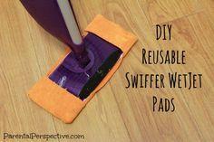 Microfiber Wet Mop Pad