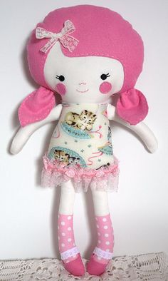 A Dolls And Daydreams Pattern Handmade with love by Marigold au by Dolls And Daydreams, via Flickr