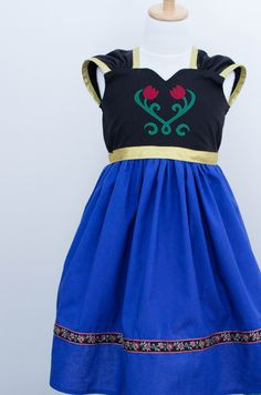 Disney Frozen Anna Inspired Practical Princess Dress by greensies, $60.00