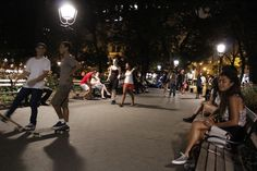 A night at Washington square park