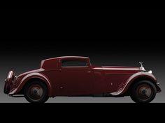 1933 Rolls-Royce Phantom II Continental Sports Coupe by Freestone & Webb.