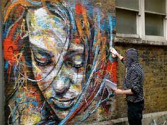 Уличните женски портрети на David Walker   street david walker 01