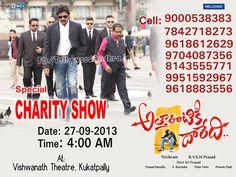 Attarinitikdaredi Charity Show Details