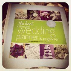 Wedding planning book! #weddingbliss