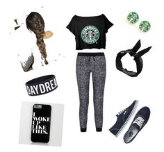 """Lazy day"" by wurth-ariana-is-awesome ❤ liked on Polyvore featuring Splendid, Vans and Boohoo"