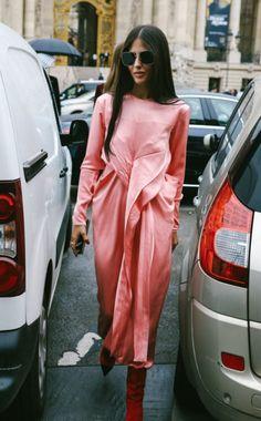 "morethanmannequins: ""Street Style at Paris Fashion Week, October 2017 """
