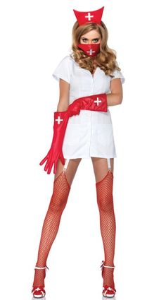 2014 New Arrival Sexy Nurse Halloween Costumes For Women