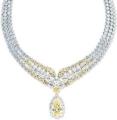 Mouawad. Necklace Rites of Spring Diamond Suite