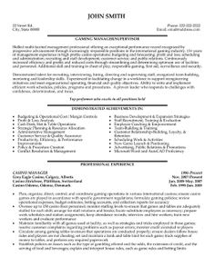 Sales Management Resume | Resume | Pinterest | Sales management ...