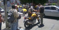Jacobina - Após três semanas de avisos, SMTT começa a recolher motos irregulares no centro
