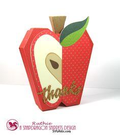 My hobby My Art: Gracias con una manzana