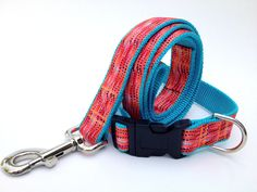 Retro  Dots Dog Collar and Leash Set - Grand Opening Special  #handmade  #thecraftstar  $30.00
