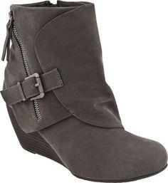 Blowfish Bilocate vegan women's boots (Grey Fawn Pu)