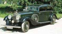 Car of the Month - February 2001 - Rolls-Royce Phantom II Continental, Touring Saloon by Park Ward Rolls Royce Black, Rolls Royce Cars, Classic Cars British, Best Classic Cars, Vintage Cars, Antique Cars, Vintage Auto, Vintage Rolls Royce, Rolls Royce Phantom