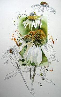 Akvareller - www.audrye.net: