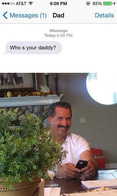 Who's your daddy? So doing this if anyone ever asks me that!