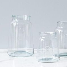 404 Not Found Clear Glass Vases, Glass Jars, Mason Jars, Recycled Glass, Carafe, True Beauty, Accent Pieces, Product Launch, Bottles