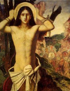 Gustave Moreau, San Sebastiano, 1875