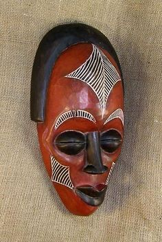 African Masks and statues of the Rasta. This African Mask from the Rastafarian people of Ethiopia measures 14.5 inches tall and is hand-carved of wood.