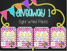 7 Giveaways from Smitten with First! So fun!