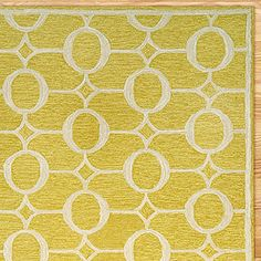 Arabesque Indoor-Outdoor Rug (World Market, $139.99) - would be so cute in my mom's den!