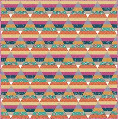 Jelly Roll Quilts, part 1 of 2 (Quilt Inspiration) Strip Quilt Patterns, Bargello Patterns, Jelly Roll Quilt Patterns, Strip Quilts, Quilting Patterns, Quilting Ideas, Quilt Blocks, Scrap Fabric Projects, Quilting Projects