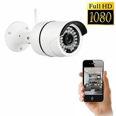 Security Camera, Sokos Bullet Camera, Megapixel Wireless Wifi HD Home Surveillance Indoor /Outdoor Cloud IP Camera , Mini Bullet IP66 Waterproof IR Night Vision Camera(1080P) -- Awesome products selected by Anna Churchill