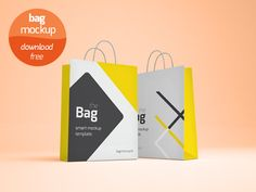 best free Shopping Bag Mockup PSD Templates that you can easily edit to suitable for the shopping cart design works, product mockup. Shopping Bag Design, Shopping Bags, Invitation, Bag Mockup, Clip Art, Photoshop, Free Graphics, Mockup Templates, Graphic Design