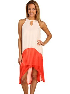 Type Z - Charley Two Tone Dress love love love this for you if you wanna rock your arms/shoulders! only $89!