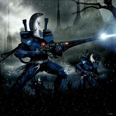 Warhammer 40k Eldar Dire Avengers