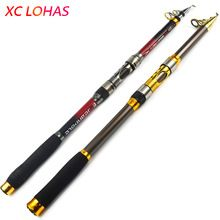 Exclusive Quality Carbon Fiber Telescopic Fishing Rod 2.1/2.4/2.7/3.0/3.6m High Performance Sea Fishing Pole Tackle Yuelong  $US $8.18 & FREE Shipping //   http://fishinglobby.com/exclusive-quality-carbon-fiber-telescopic-fishing-rod-2-12-42-73-03-6m-high-performance-sea-fishing-pole-tackle-yuelong/    #braidedfishinglines