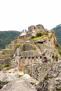 The archaeological ruins of Machu Picchu, Peru.