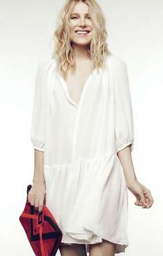 The Dree Hemingway for Sandro Collection Offers Casual Boho Style #hair #coloredhair trendhunter.com